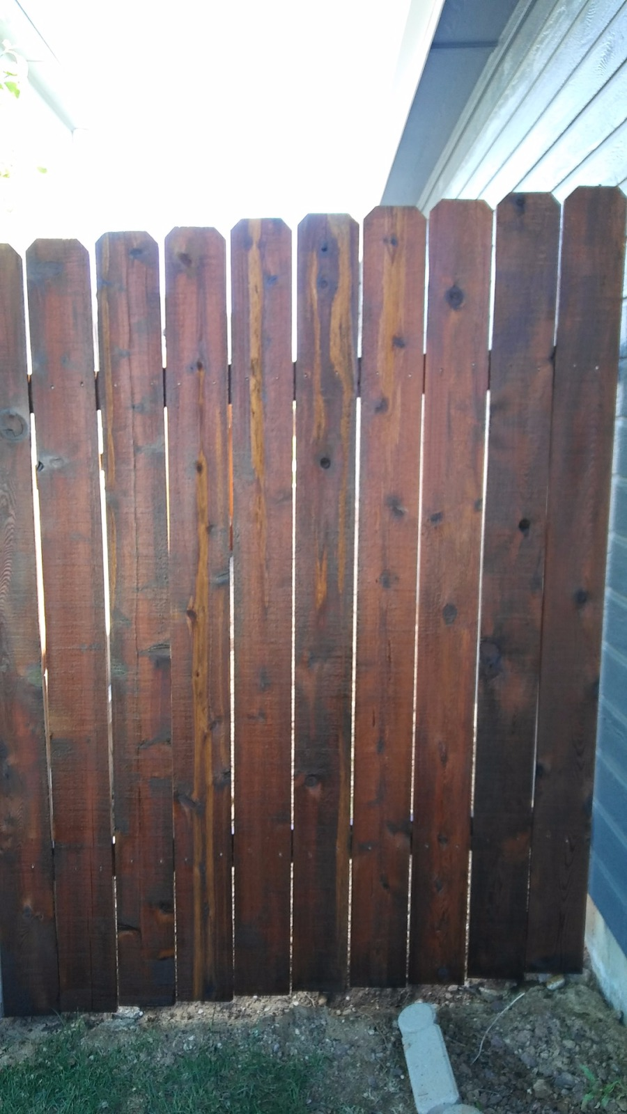 We Used A Solid Color Wood Stain On This Old Deck First Pressure Washed The Sanded Throughly Replaced Some Rotten Tightened And Pulled